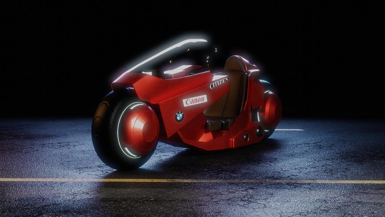 Kaneda's Bike