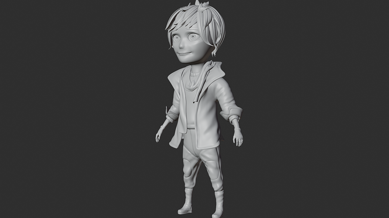 Character Modelling Course Results