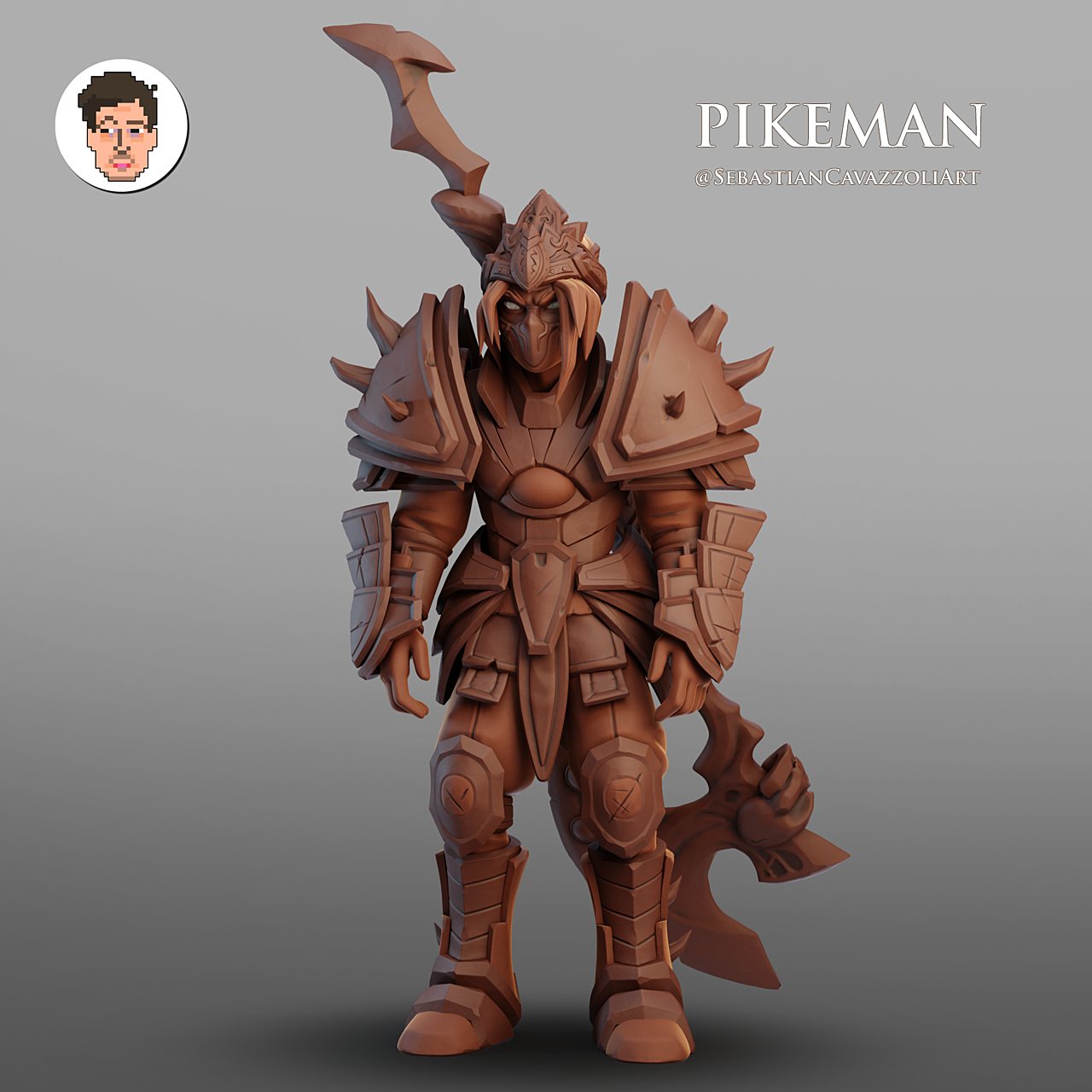Pikeman from Priston Tale Fanart