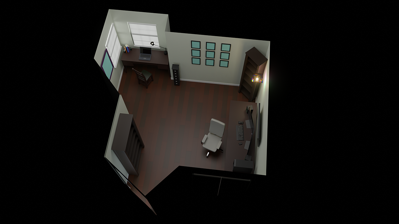 Low-poly Room Project, Assignment (Final)