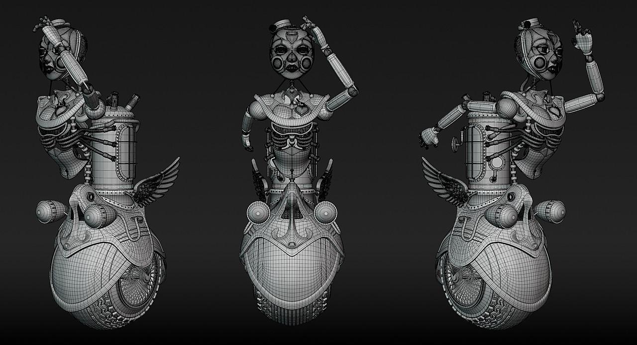 Steampunk Automaton