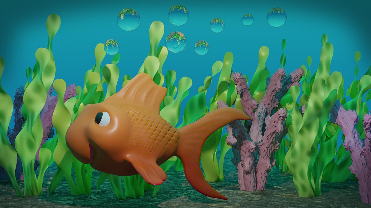 Hap's the Gold Fish