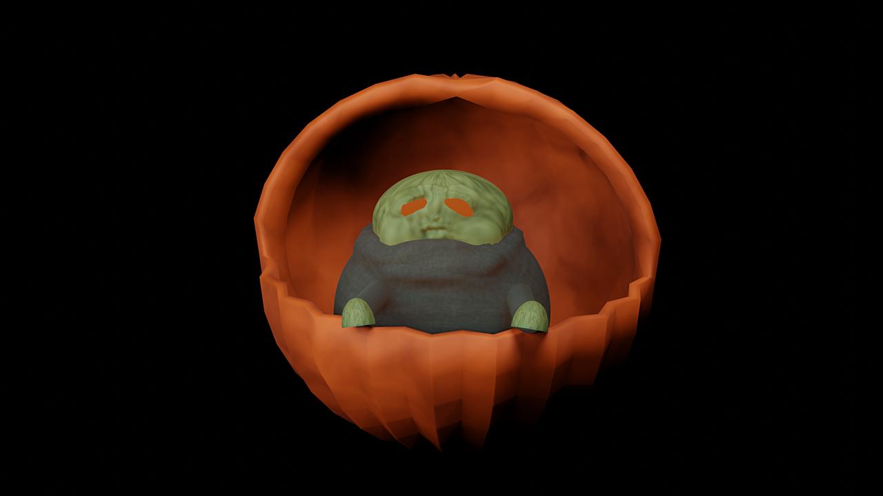 EPIC PUMPKIN FINAL - Dark Side Yoda, What Happened to Mando?