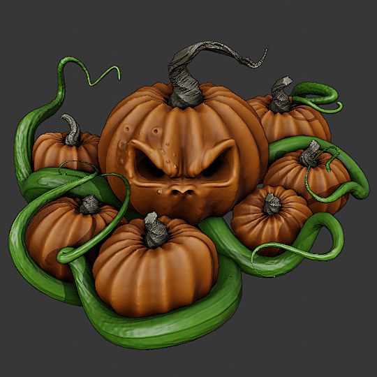 Epic Pumpkin Challenge #1