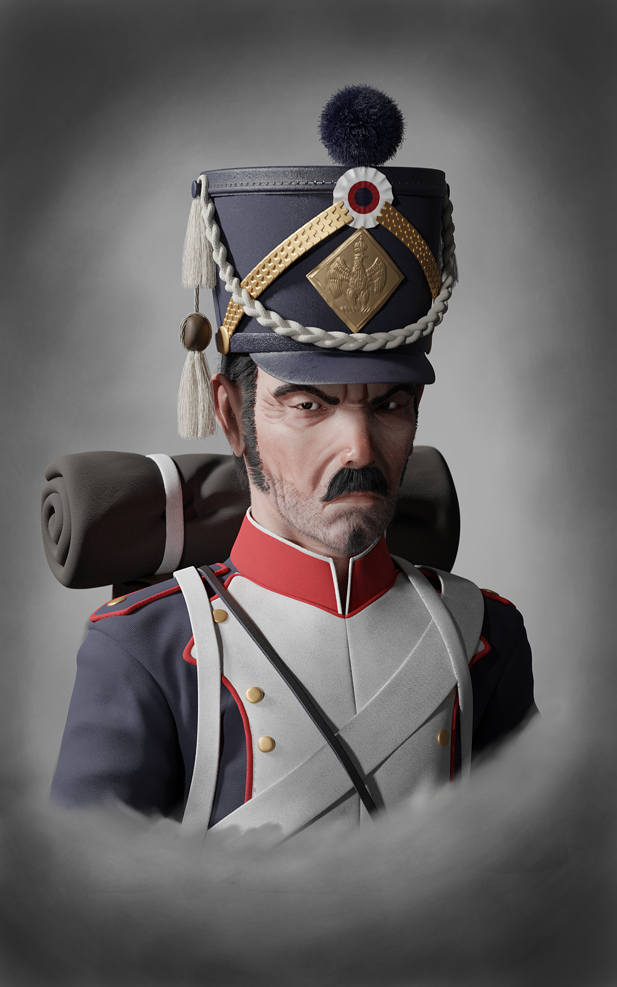 Old work: Napoleonic soldier