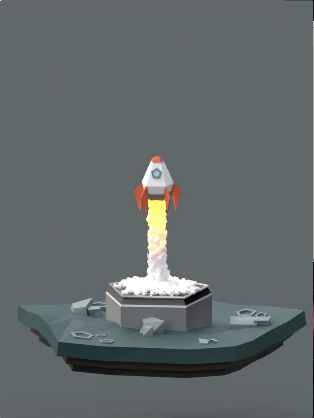 My Rocket Animation