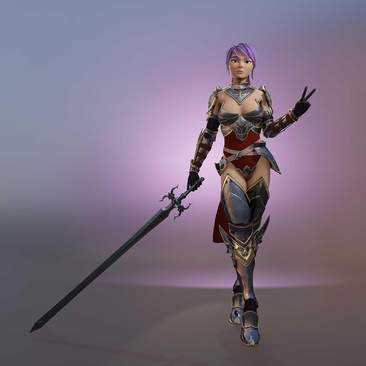 Temple guard cosplay