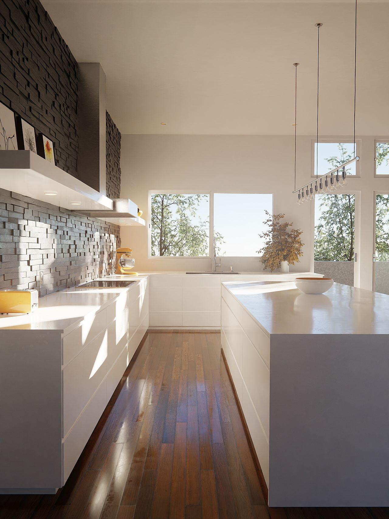Clean Kitchen Redone