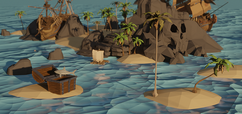 Treasure chest animation