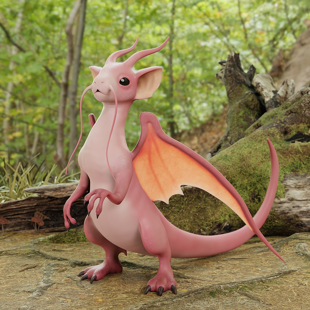 Mouse Dragon Creature