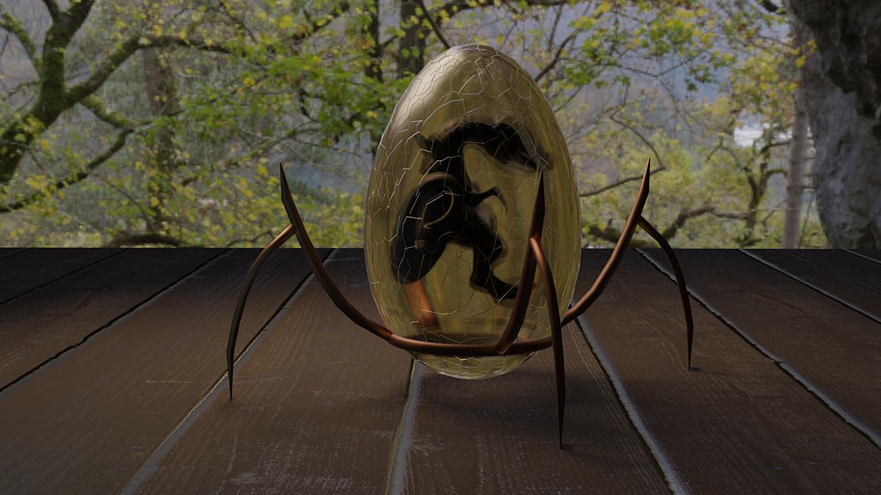 SculptJanuary - 1 DragonEgg