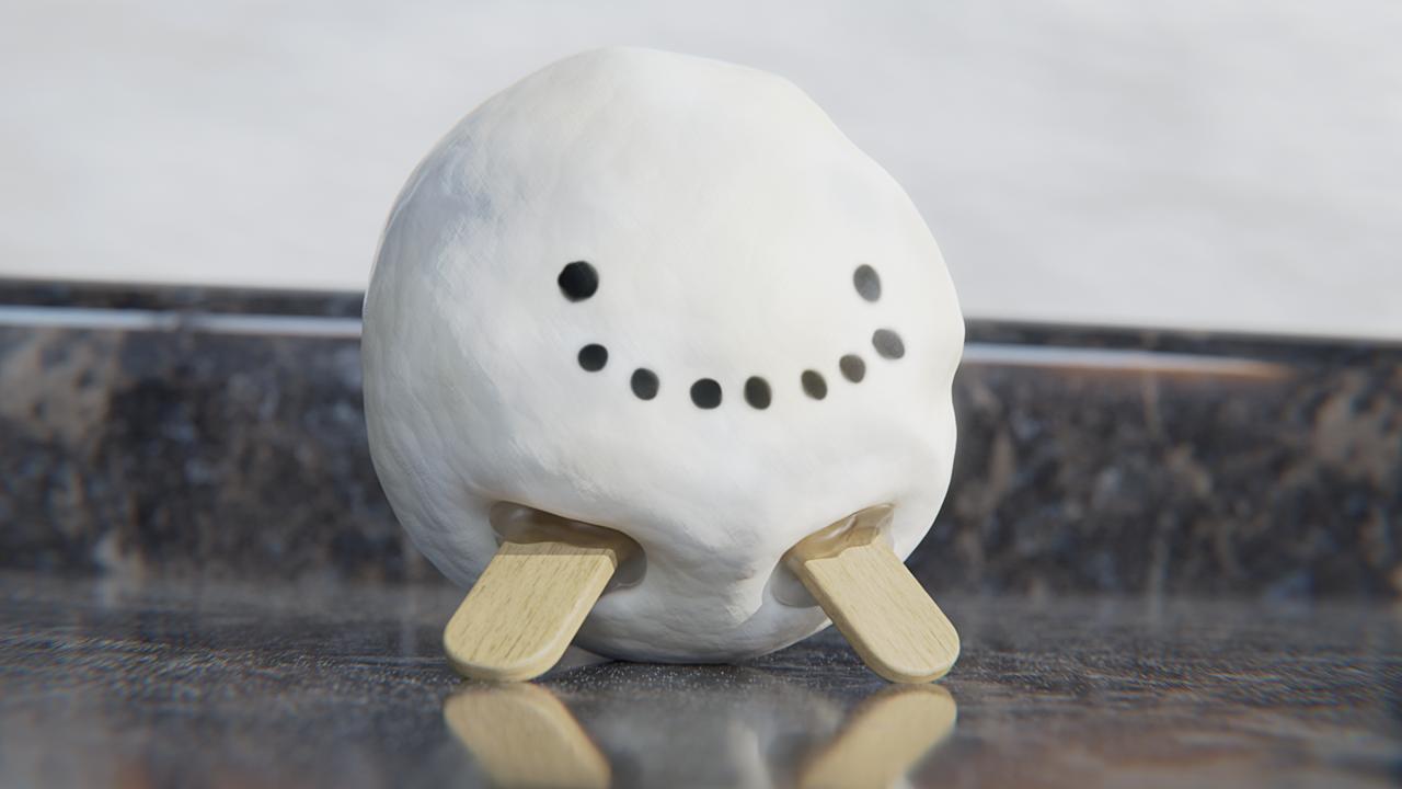 My take on a snowman