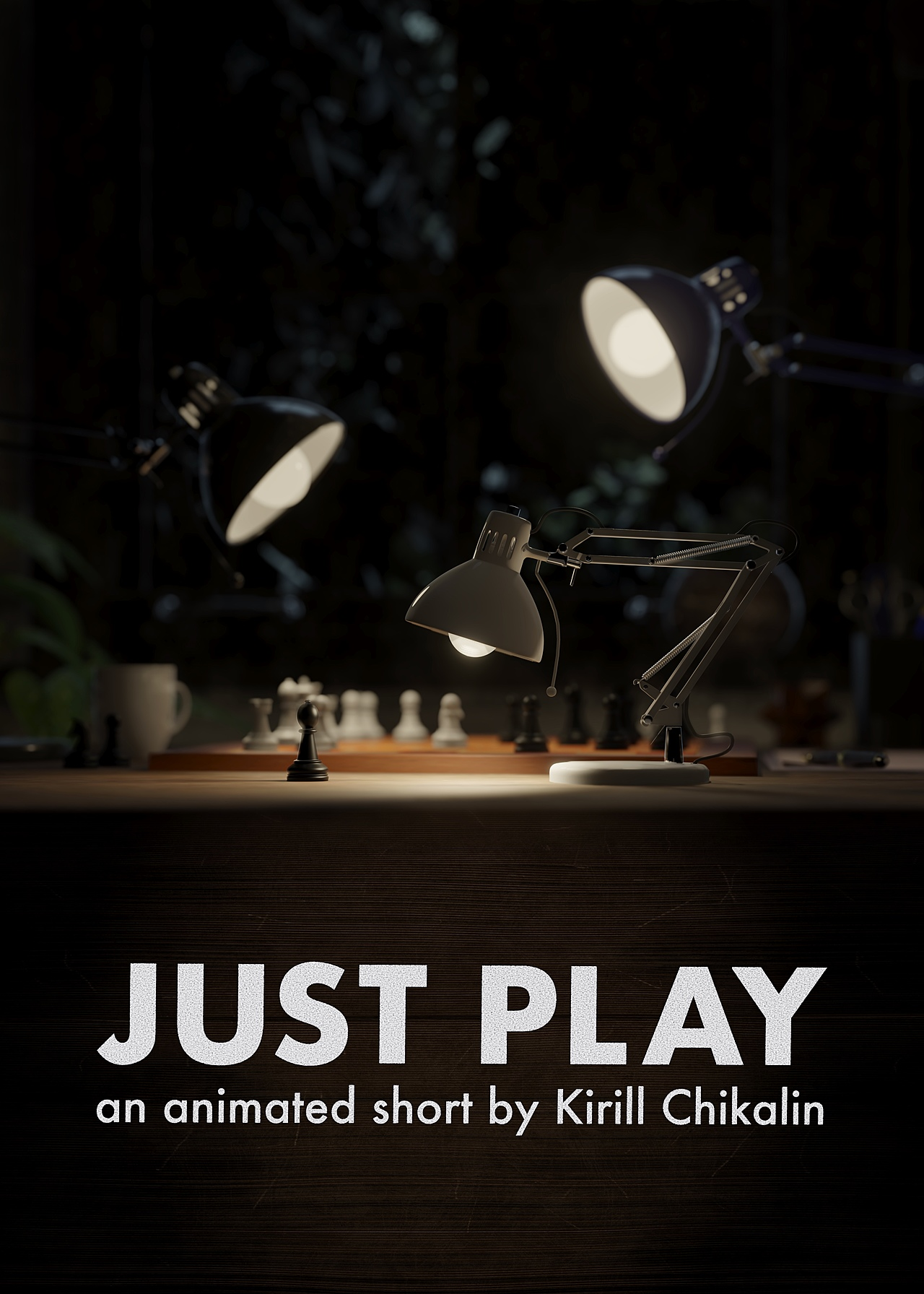 Just Play // an animated short by Kirill Chikalin