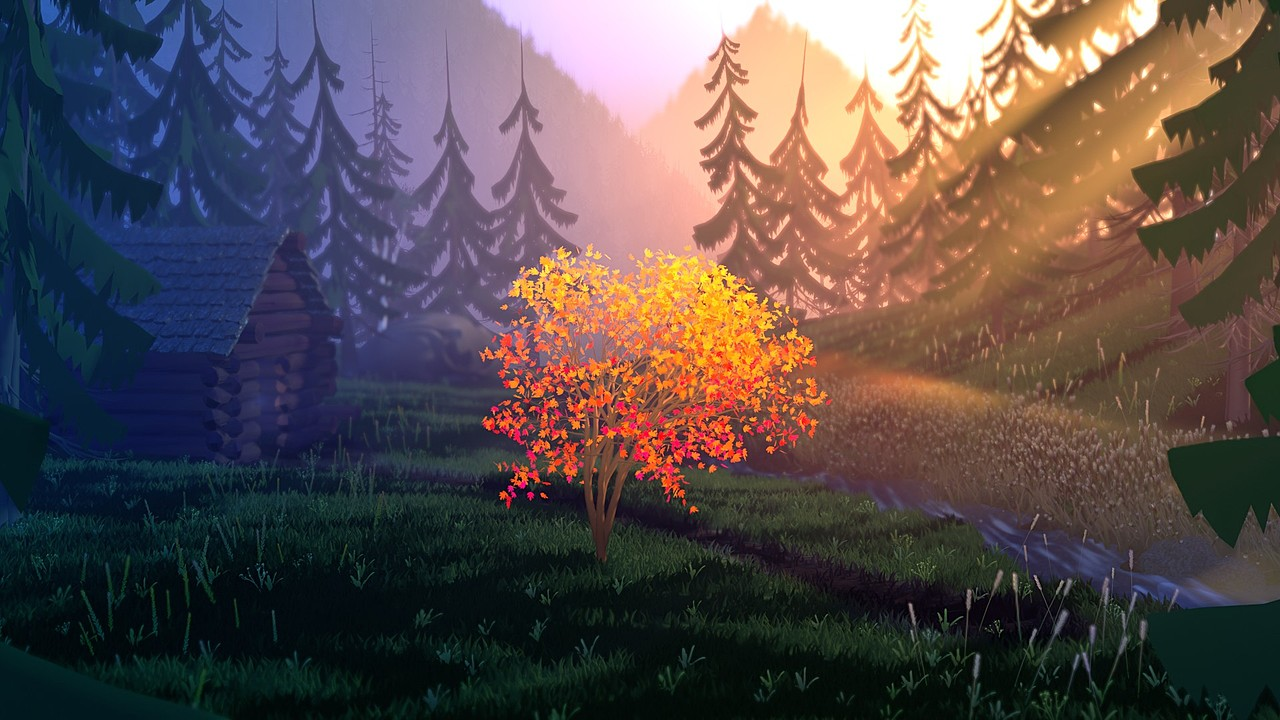 Stylized Forest project