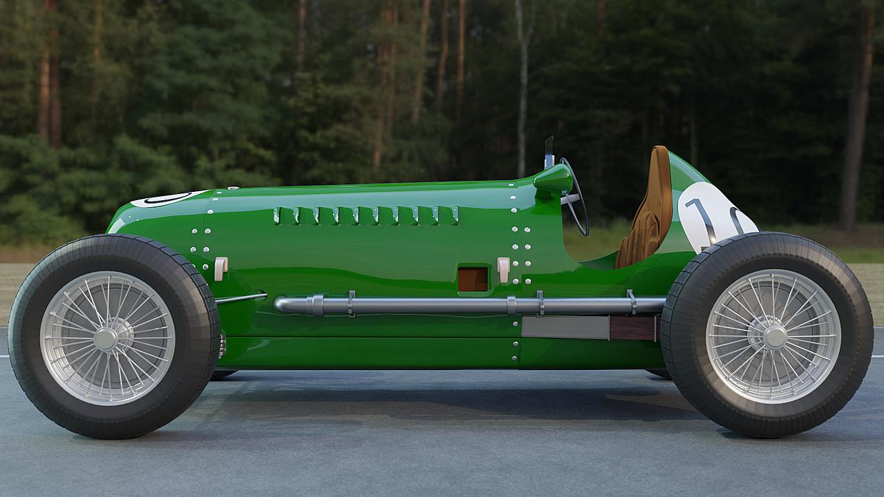 That Vintage Race Car