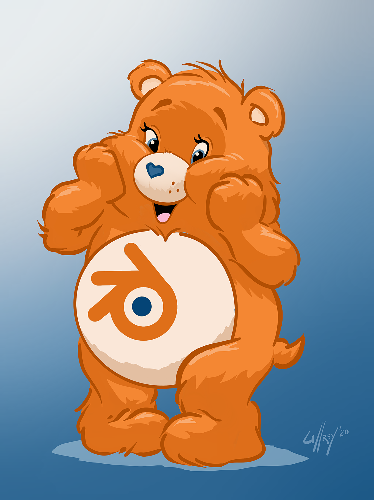 Hey! Who is this new Care Bear?