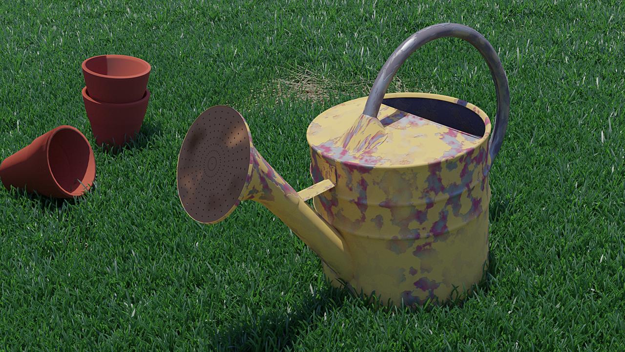 Creating Grass in Blender