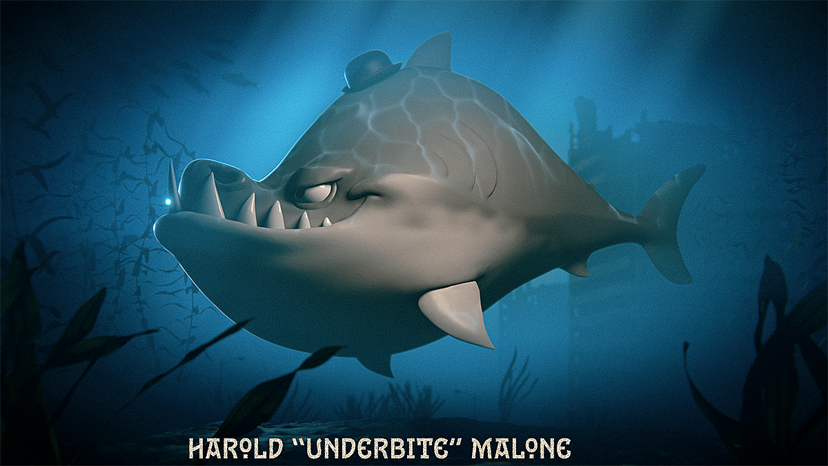 "Harold ""Underbite"" Malone"