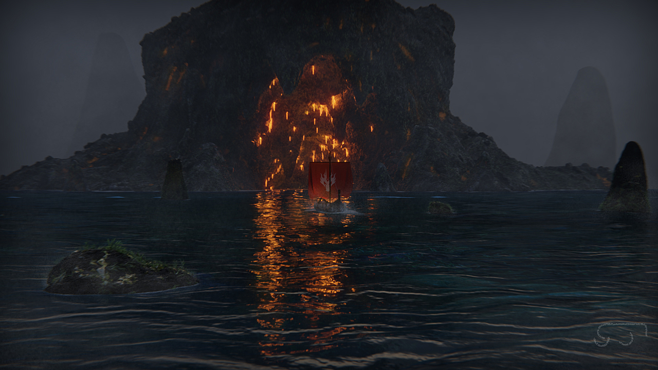 Viking Boat (For Cgboost challenge)