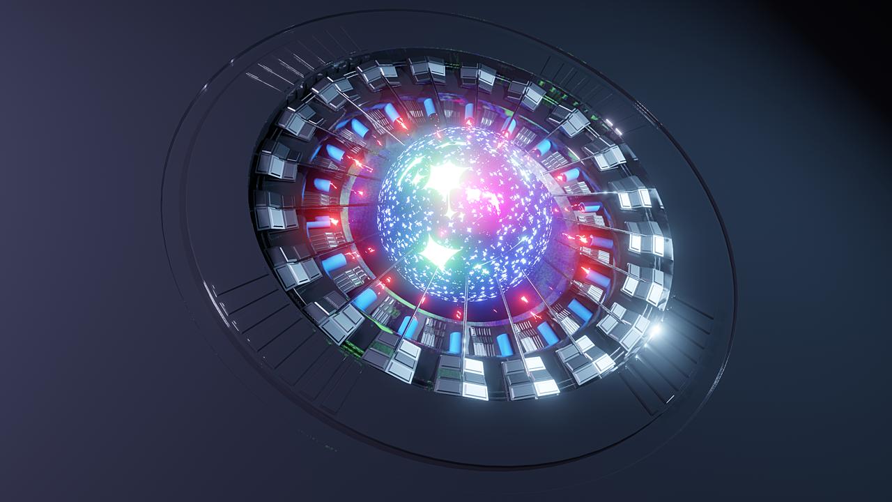 EEVEE Sci Fi Plasma Energy Reactor