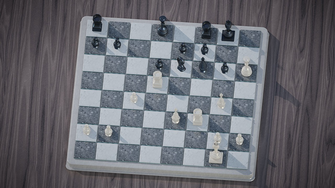 Chess Game: Sherlock vs Moriarty