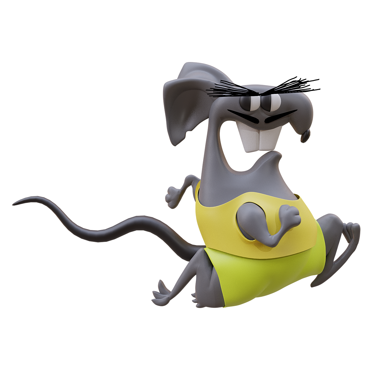 Running Rat Racer