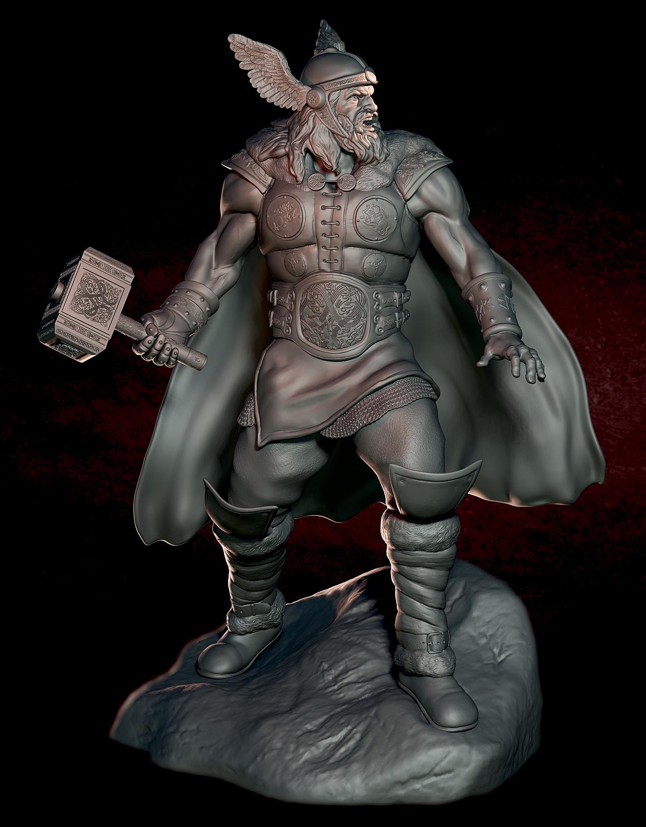 Norse Thor collectible
