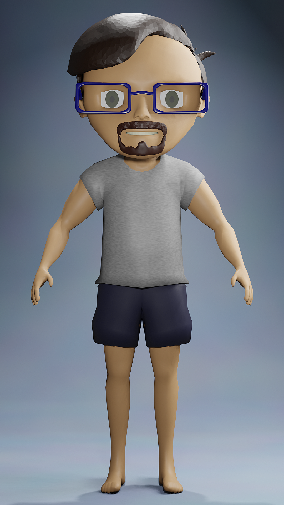 Self portrait chibi