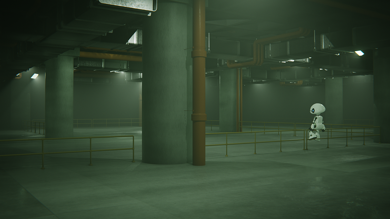 Course : Create Realistic Industrial Environments with Blender and Eevee