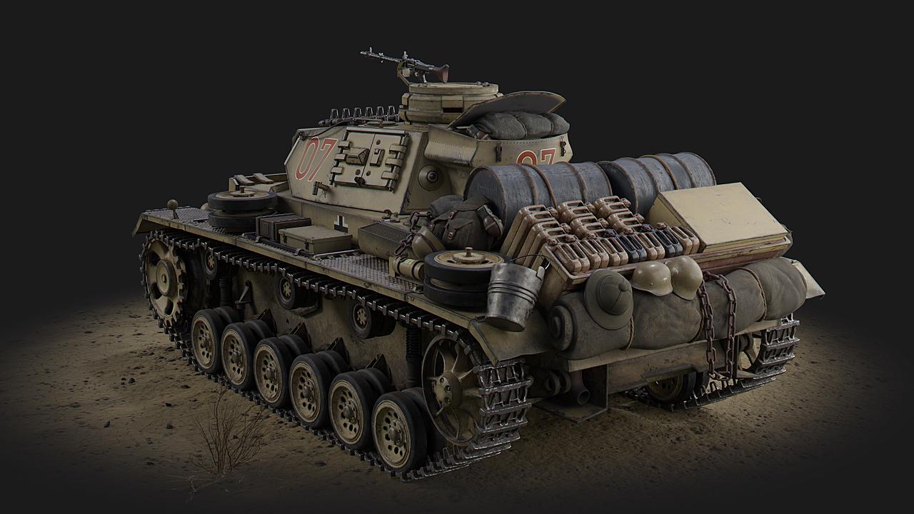 Panzer III Africa