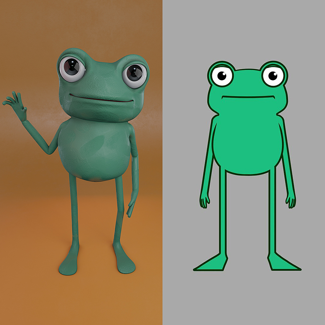 Leonard the Frog