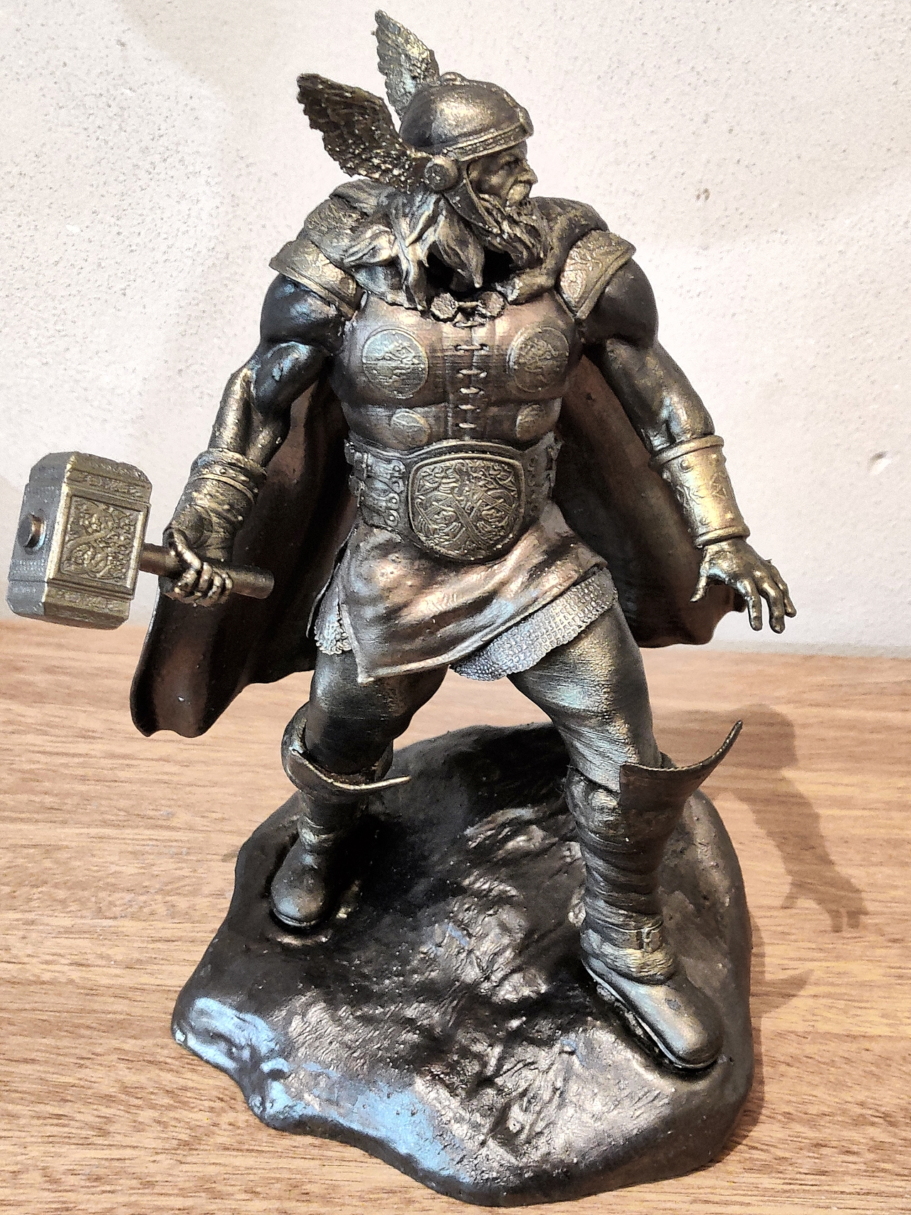 Norse Thor collectible printed