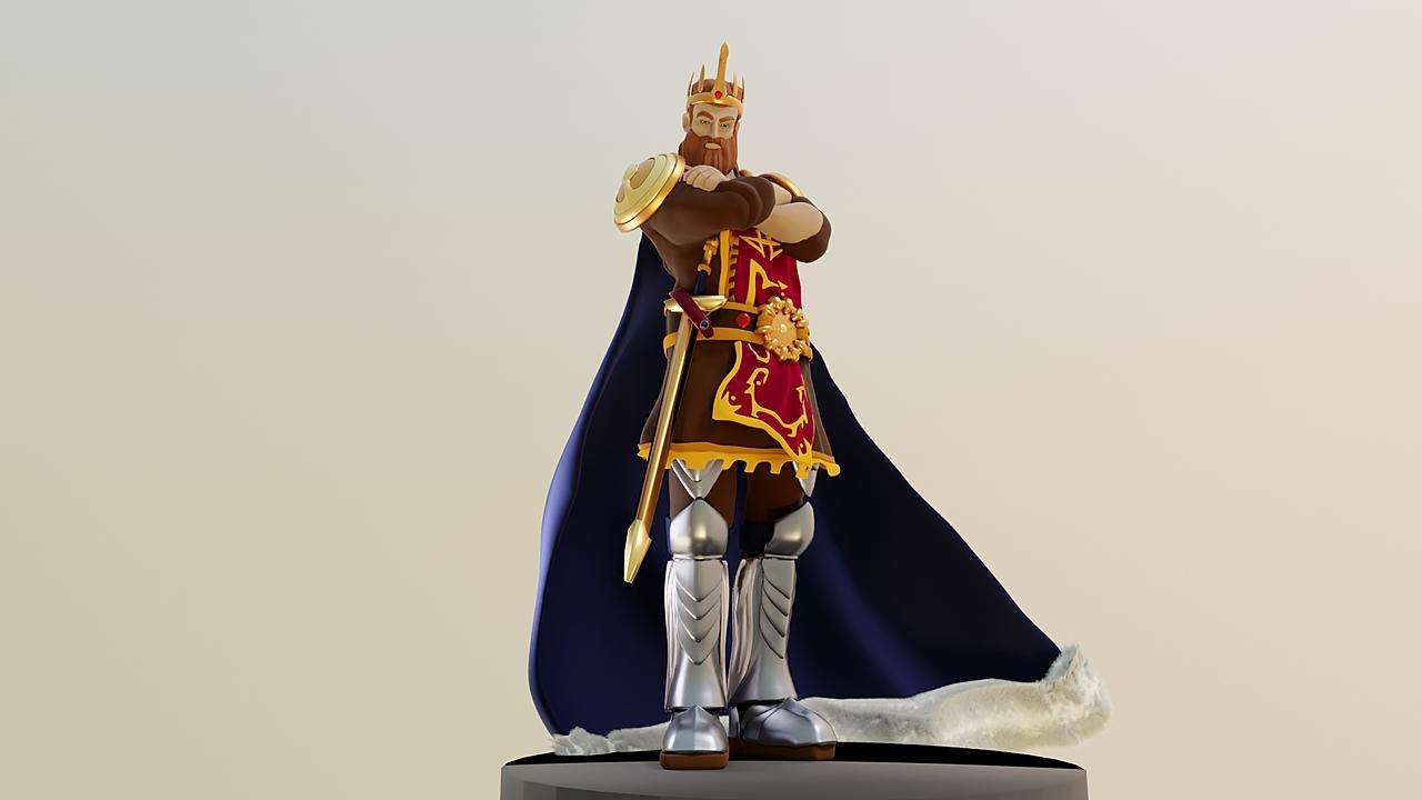 Steve Sims inspired Fantasy King