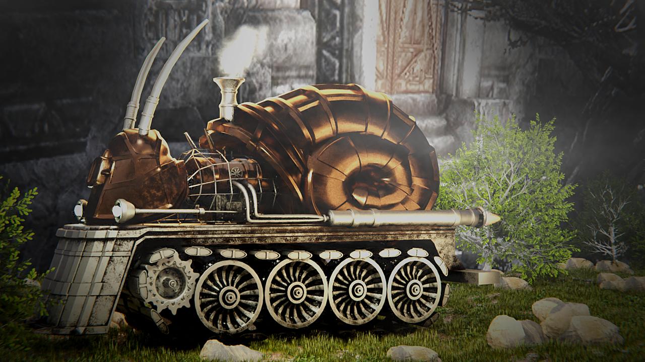Steam Punk Snail Update