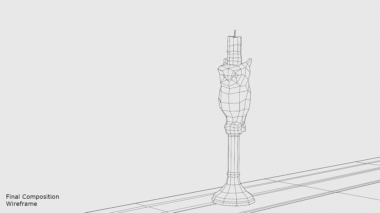 Collab 2021 Interior — Owl-themed Candlestick