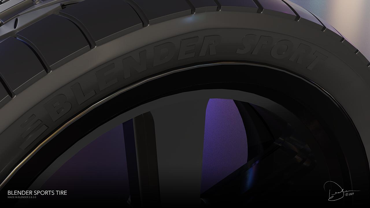 Blender Sports Tire