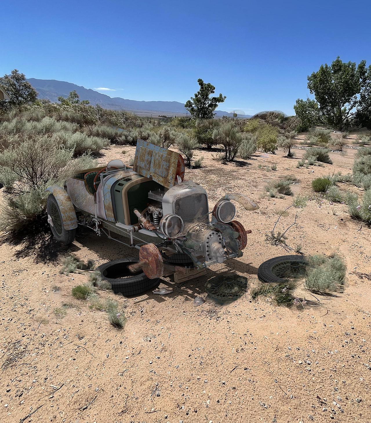 Dumped in the Desert