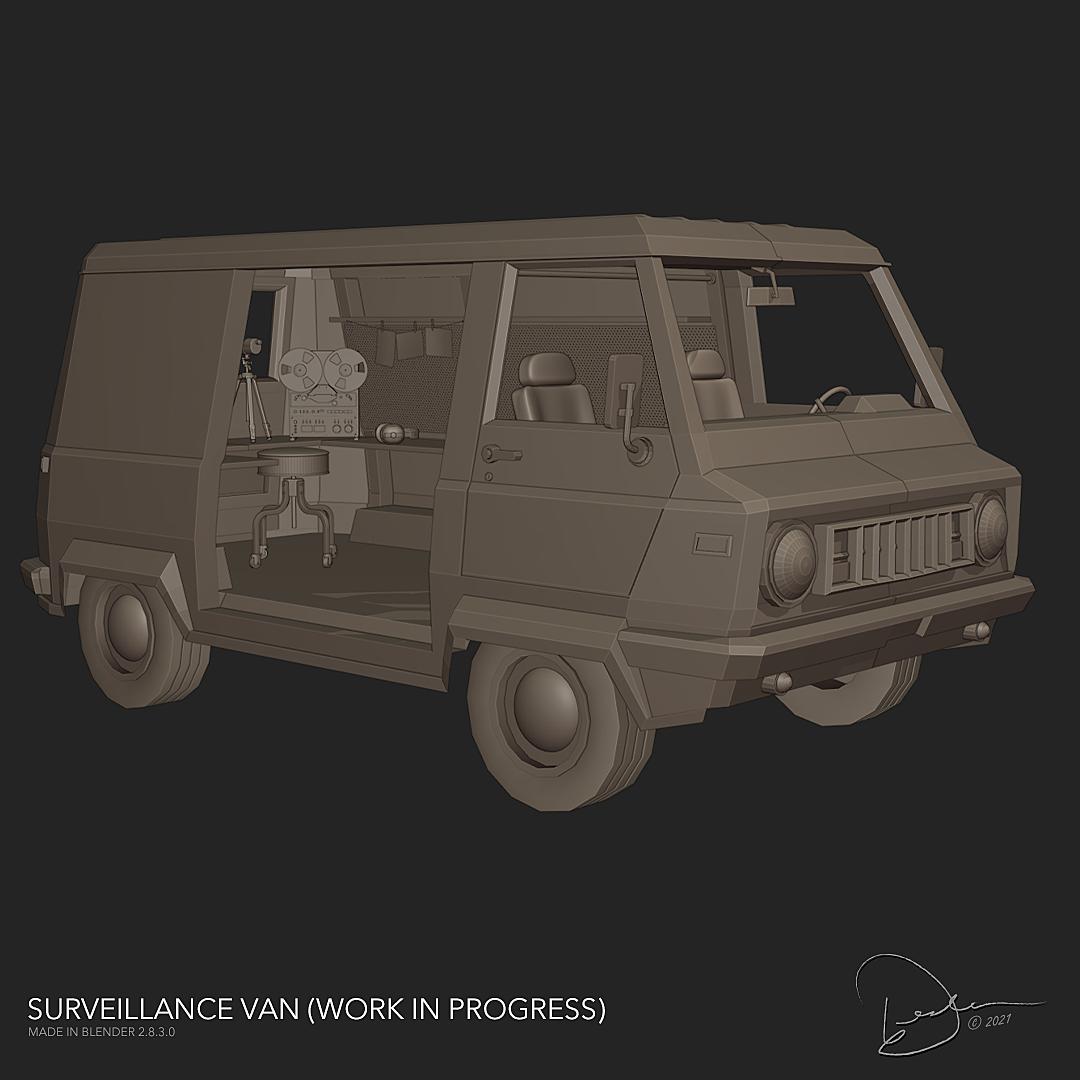 Surveillance Van