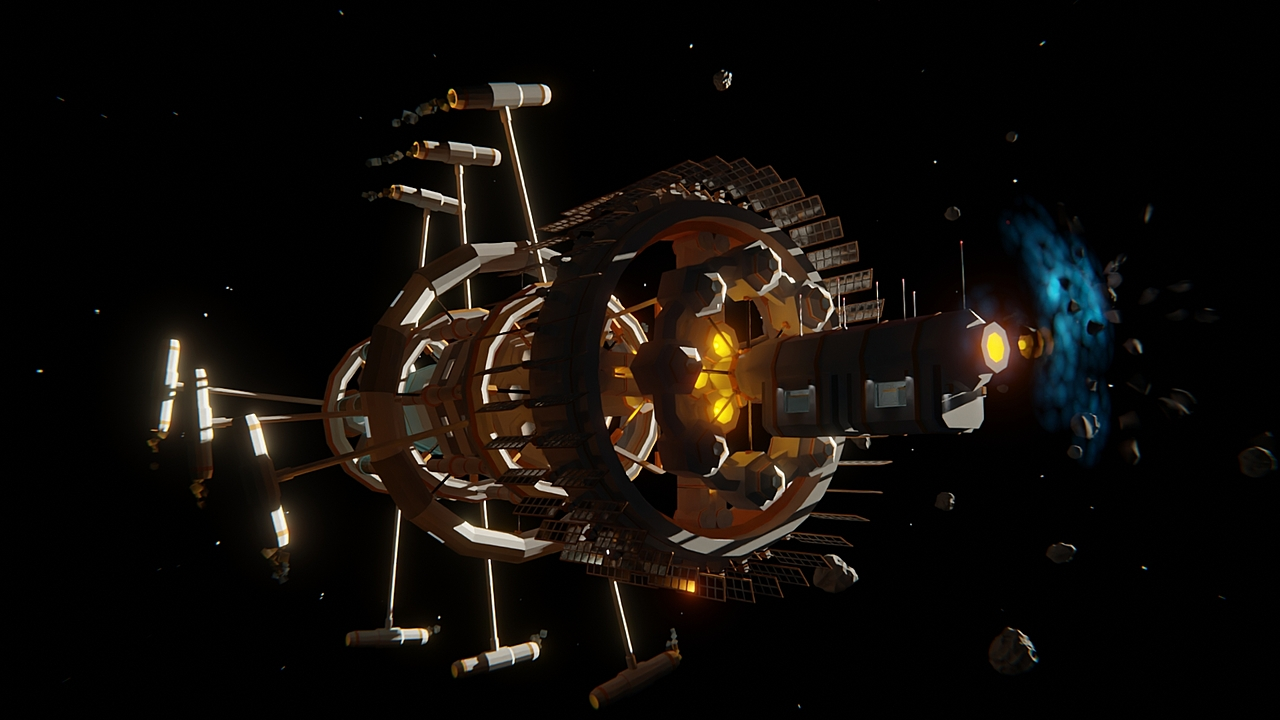 Project Energy - Space station