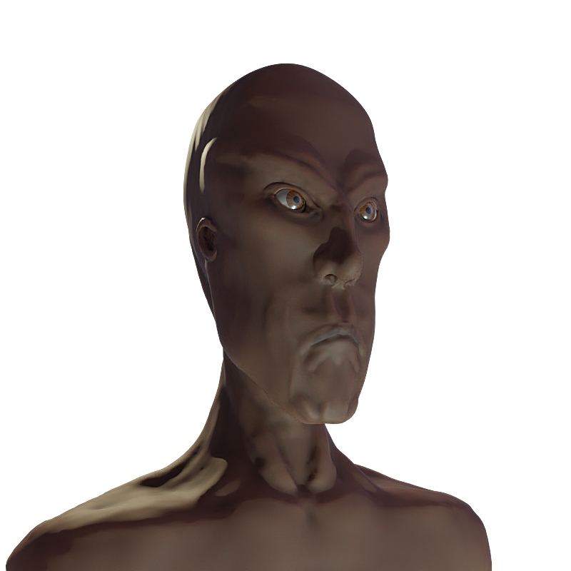 Muun Alien 3d Sculpt