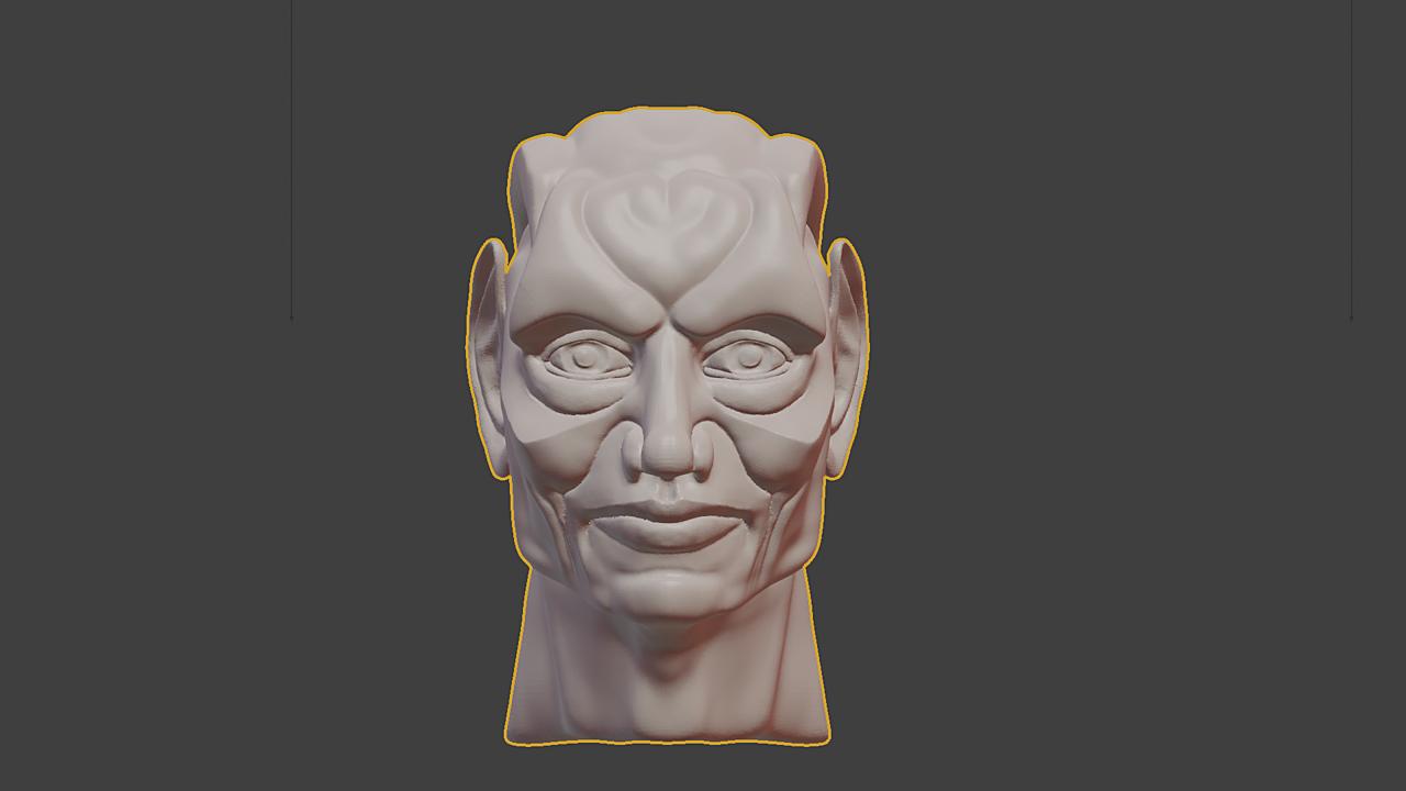Stylized Character WIP Head