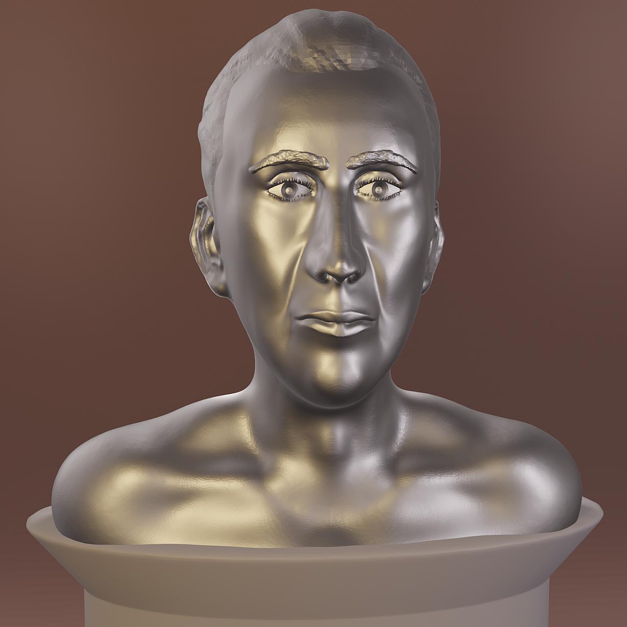 Sculpting portraits - NC