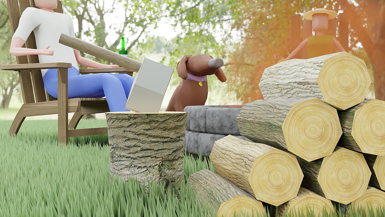 Cozy Campfire - Summer Fun Challenge