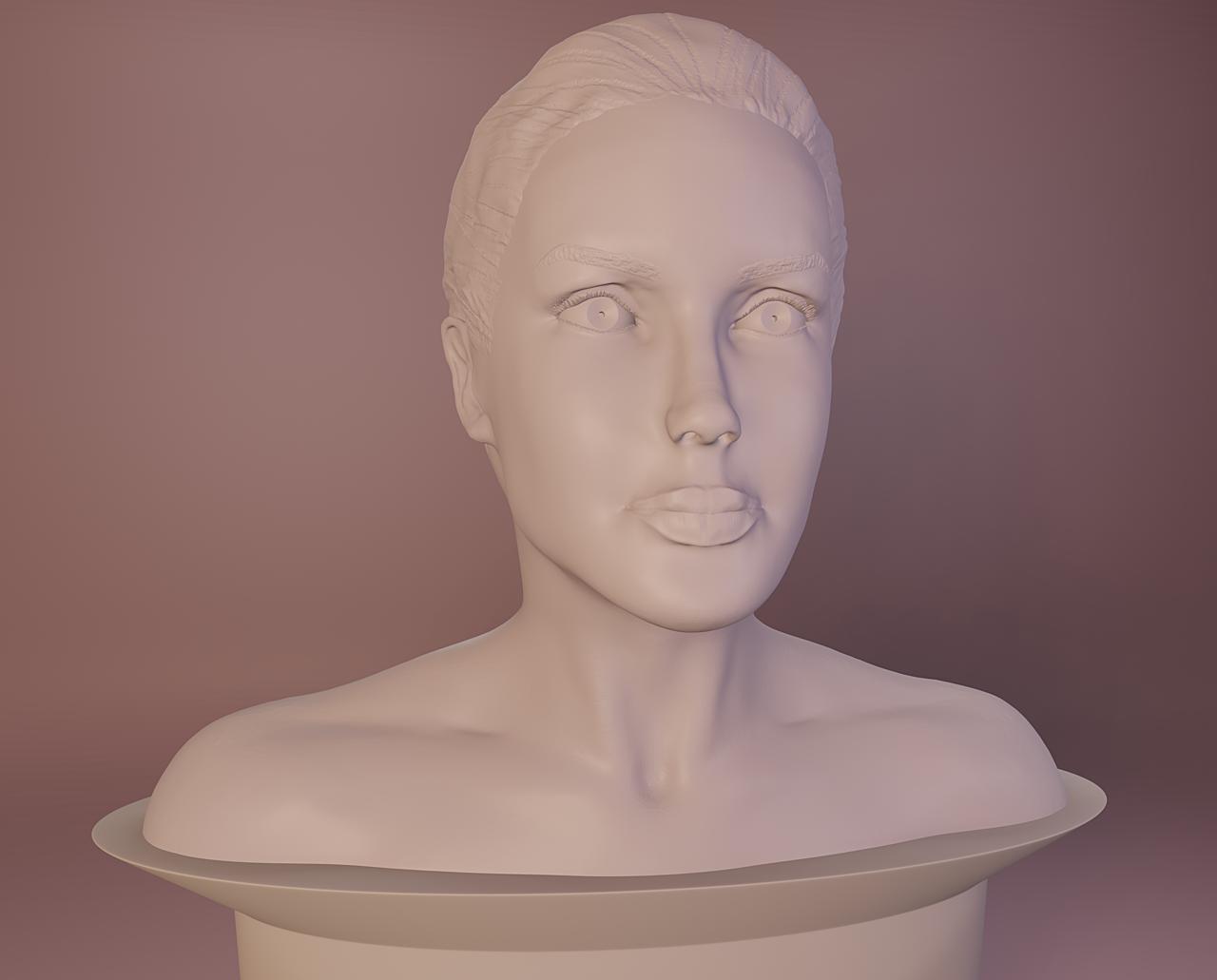 Sculpting Portraits - AJ
