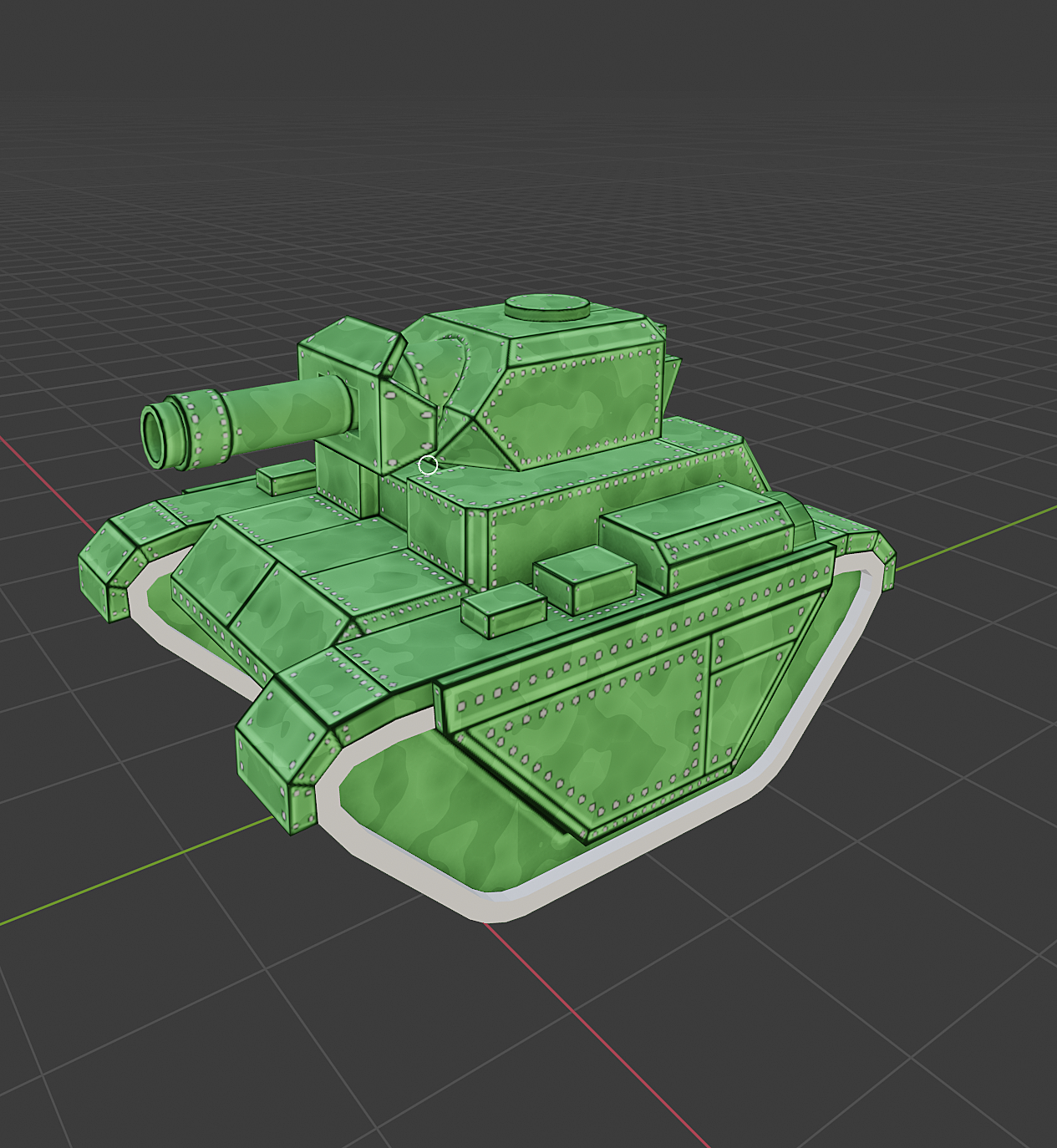 Tank camouflage