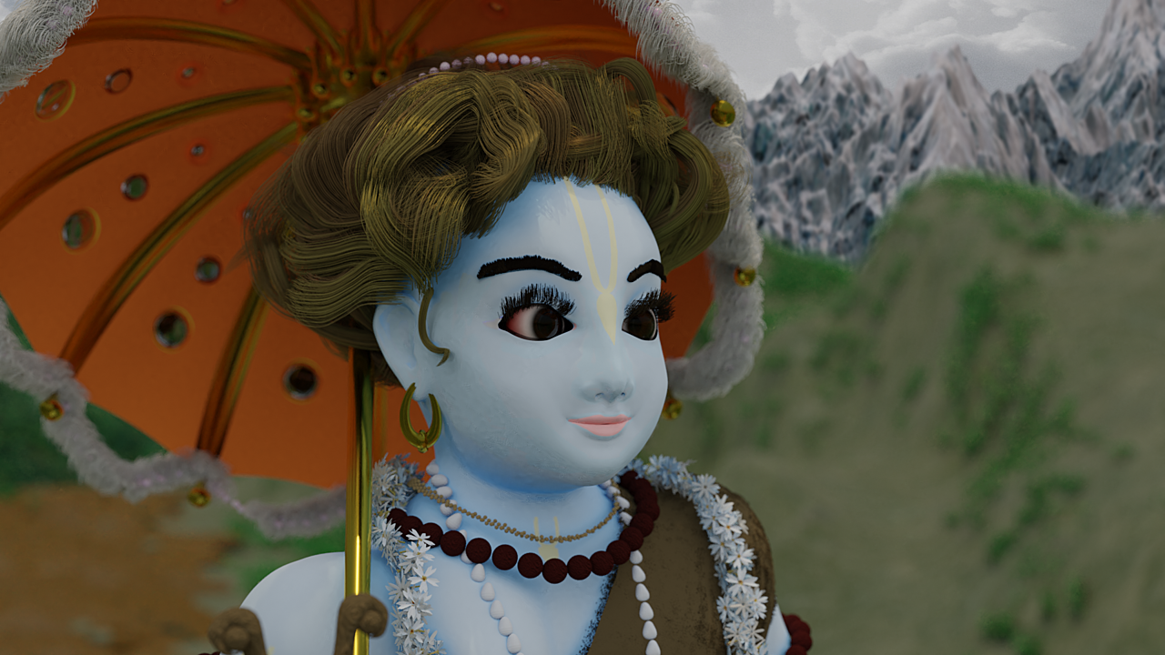 3d Character Vamana Avatara