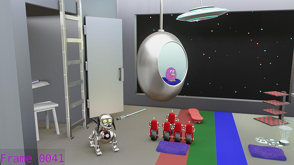 Sci-fi Room Challenge 2021 -Kids will be kids
