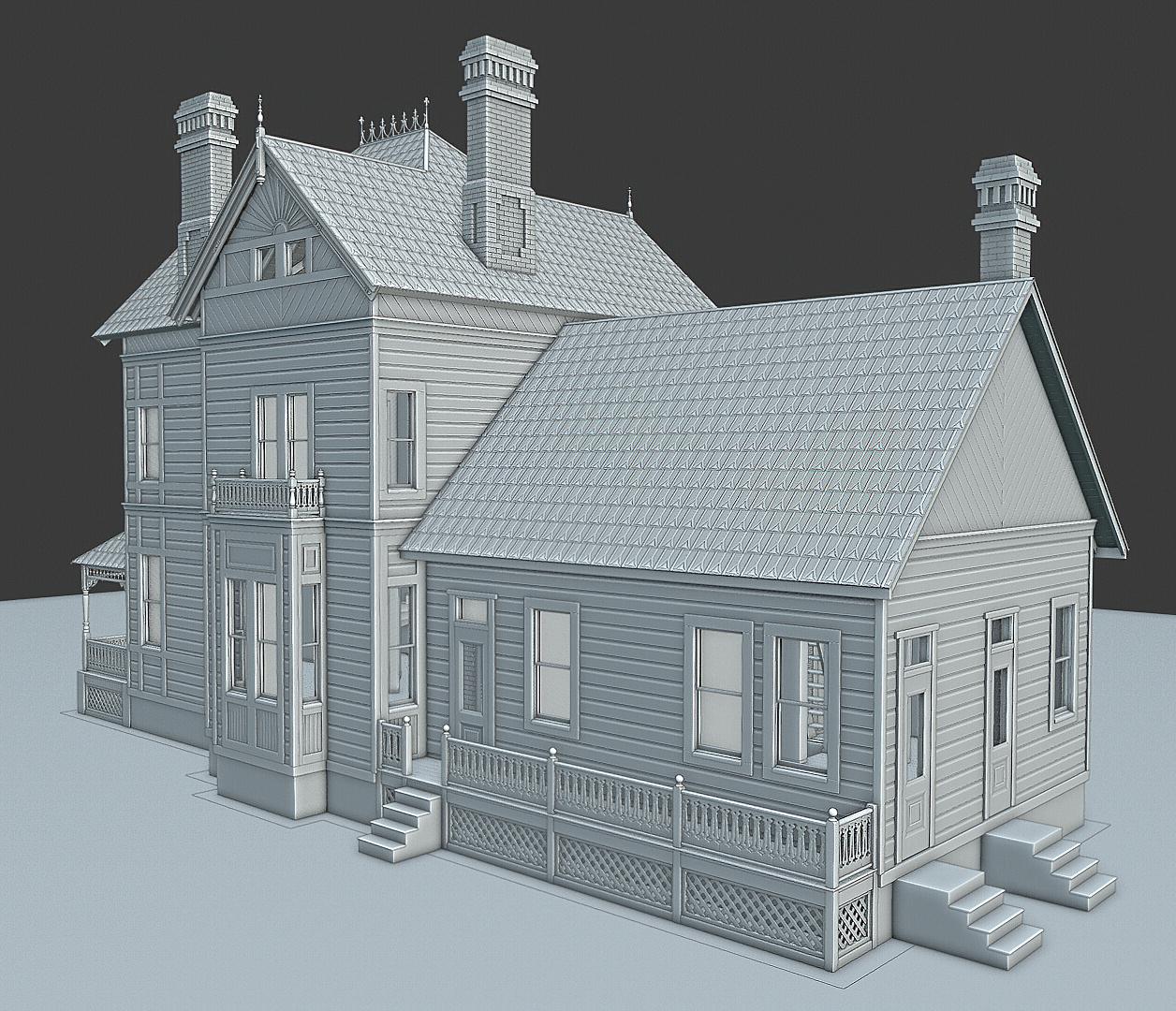 1880s Eastlake-Style American House