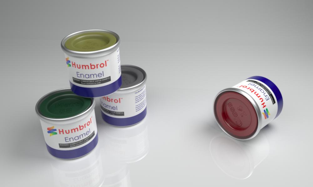 Humbrol Paint Tins