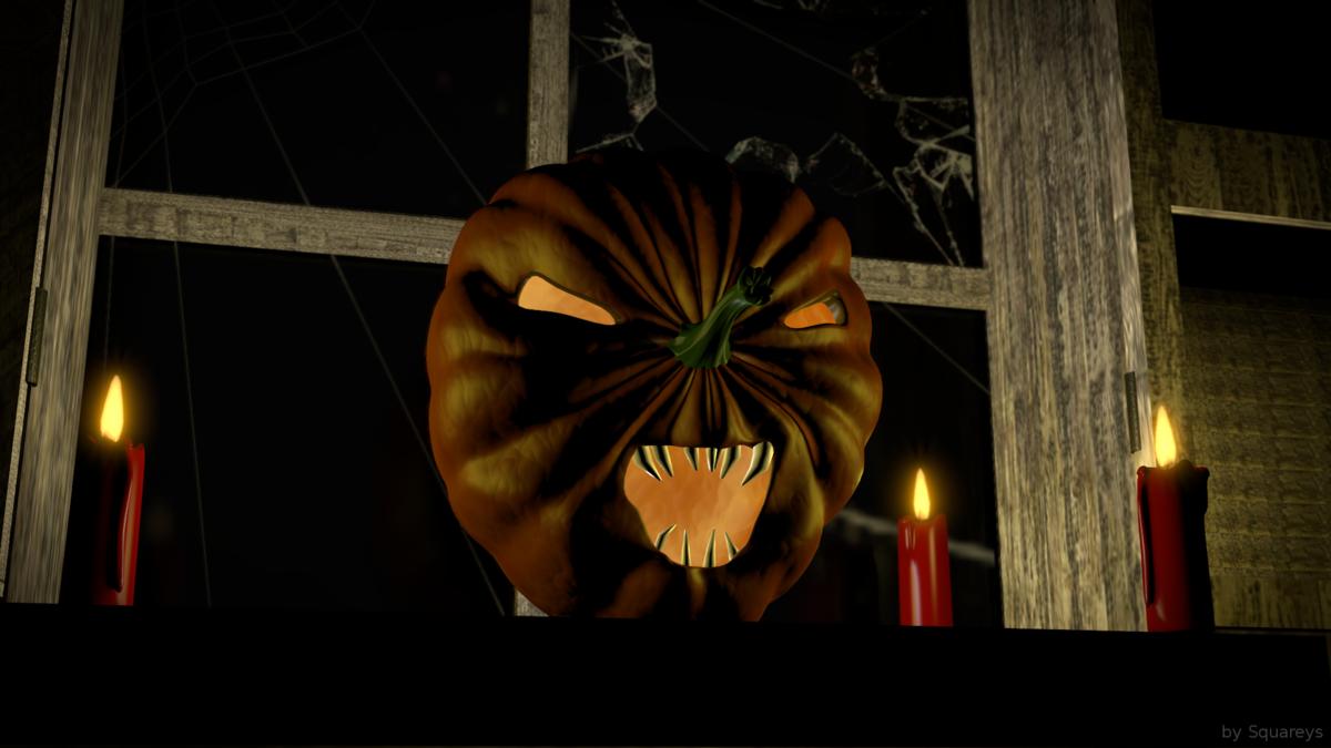 Hounted Pumpkin
